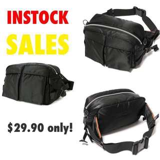Biker Tanker Waist sling bag pouch