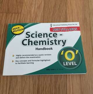O Level Quick Revision Science Chemistry Handbook