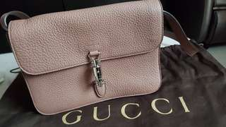 Gucci Jackie Soft Flap with Piston Lock