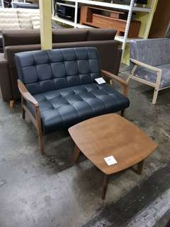 2 seater sofa+ side table