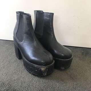 Boohoo Platform Boots