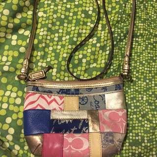 Authentic Coach Mini Sling Bag