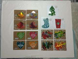 Starbucks Cards per Set