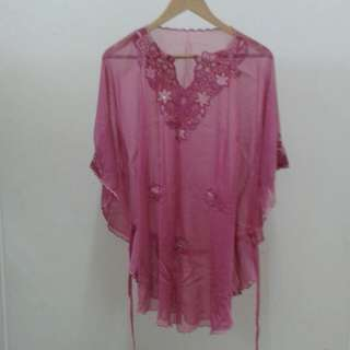 Kaftan Top with beads