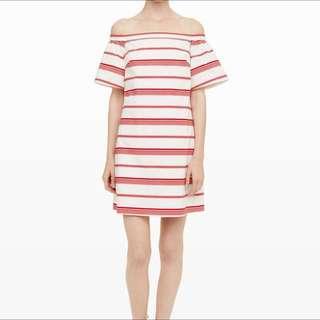 Club Monaco Off Shoulder Dress