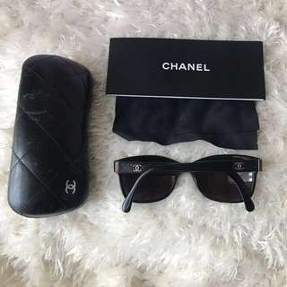 CHANEL Sunglasses Prescription Eyeglasses Black Quilted CC Frames Rx Glasses 3246-Q c.501