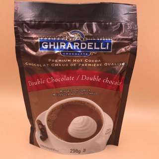 加拿大直送 GHIRARDELLI Premium Hot Cocoa Double Chocolate 298g 朱古力飲品