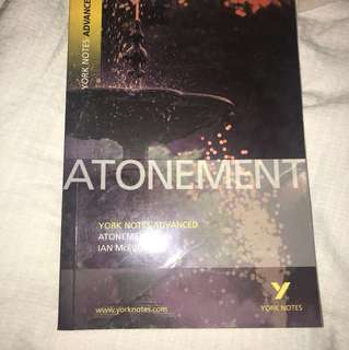 Atonement York Notes Advanced