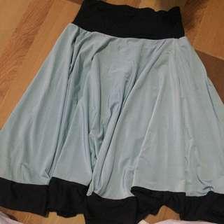 No Brand Midi Flare Skirt