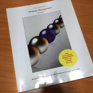 Strategic Management (3rd edition)