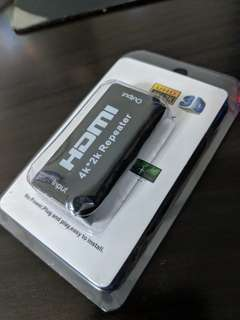 YBC 4K*2K HDMI Repeater Extender Booster Adapter 3D HDTV Signal Amplifier