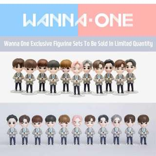 OFFICIAL WANNA ONE FIGURINE COLLECTION