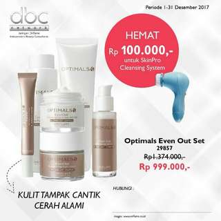 Optimals even out set oriflame (perawatan)