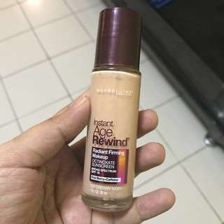 Maybelline foundation with include postage