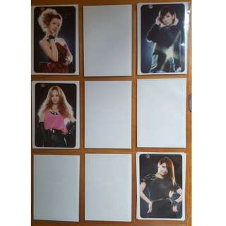 Selling SNSD Girls Generation 2011 Tour Official Sone photocards