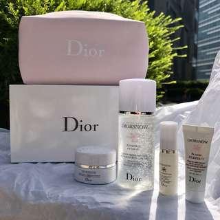 Christian Dior DiorSnow Skincare Set