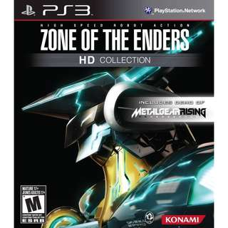 [Brand New] PS3 Zone of the Enders HD Collection (R3)