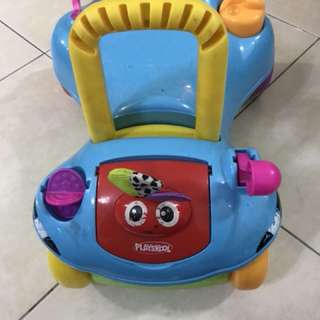Playskool ride & push walker