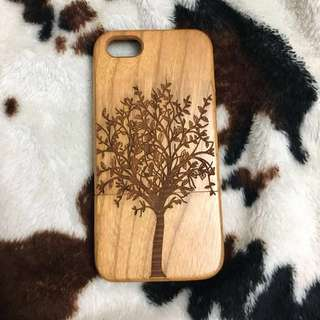 I Phone 5 / 5s Wooden Tree of Life Casing