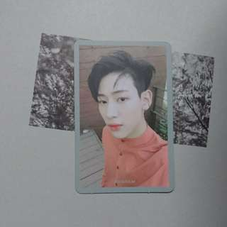WTS Got7 7 for 7 Present edition Bambam selfie photocard