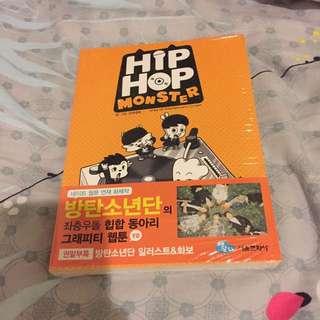 BTS Hip Hop Monster Comic Book (Rare)