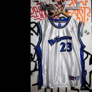 Fresh Loots / NBA Michael Jordan 華盛頓 巫師 球衣 Champion Vintage