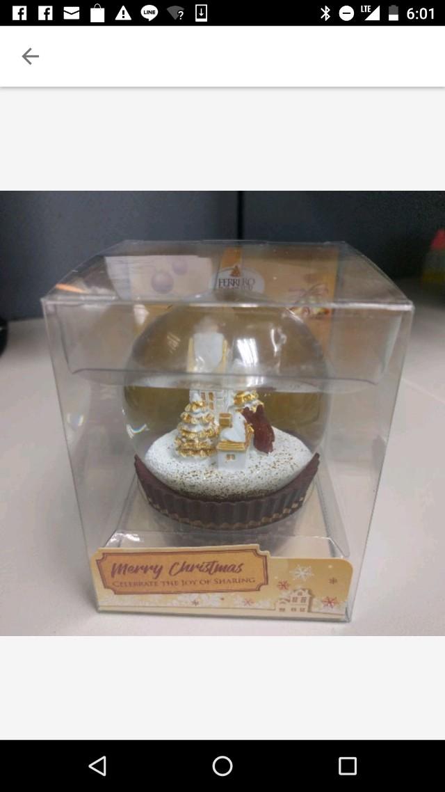 2017金莎聖誕水晶球*房子款(免運)