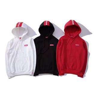 Supreme New York Emblazon Hoodie Pullover Sweater Apparel
