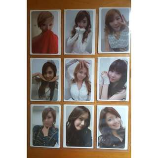 Selling SNSD Girls Generation Mr Taxi Repackaged official Photo cards
