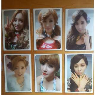 Selling SNSD Girls Generation TTS Twinkle Official Photocard