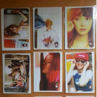 Selling F(x) Pink Tape Official Photo card