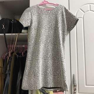 Zipback dress