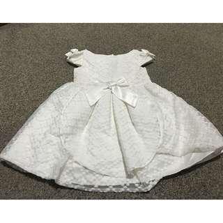 Alli&Ella Off White Formal Dress