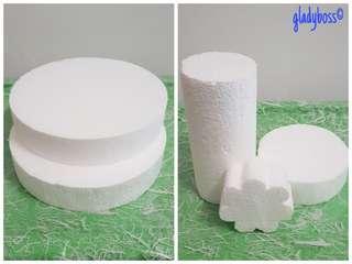 New Styrofoam - Assorted Shapes and Sizes