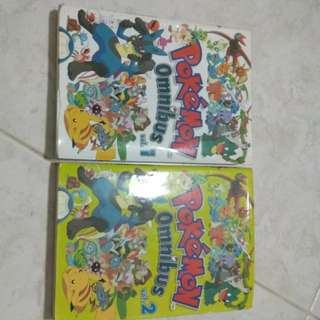 Pokemon omnibus volume 1-2