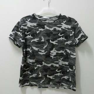 STRADIVARIUS Basic Shirt (grey army)