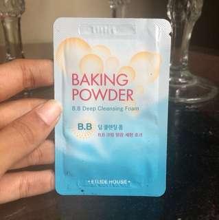 BB Deep Cleansing Foam Baking Powder dari Etude House (tester/sachet/sample)
