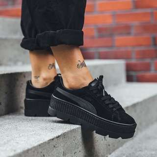 Puma X Fenty Suede Cleated Creepers