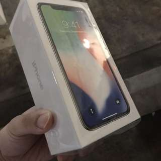 BNIB iPhone X 256GB silver at $1700