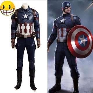 Captain America Civil War Version Costume for Sale