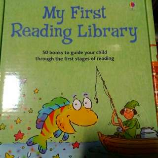 Usborne My Very First Reading Library