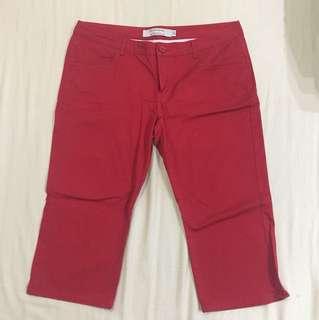 Celana 7/8 giordano ori (size 32 setara xl)