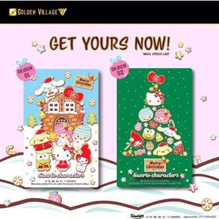 Hello Kitty Xmas Ezlink card