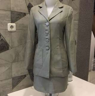 Blazer & Rok Bahan Tailor Made