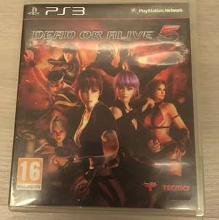 PS3 Dead or Alive 5 - I'm a fighter
