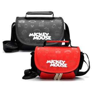 [READY STOCK] IMPORTED ORIGINAL DISNEY MICKEY MOUSE DSLR CAMERA SHOULDER BAG