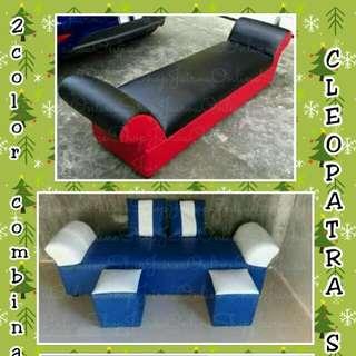 2 color combination cleooatra sofa set