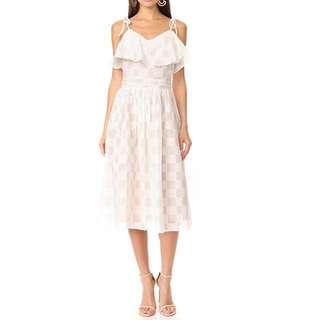🚚 白色細肩帶洋裝