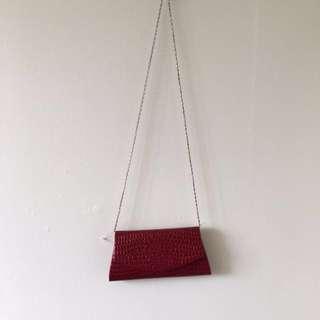 ⚫️Vintage Red Clutch Purse