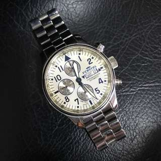 Fortis F-43 Flieger Limited Edition Chronograph Men Watch